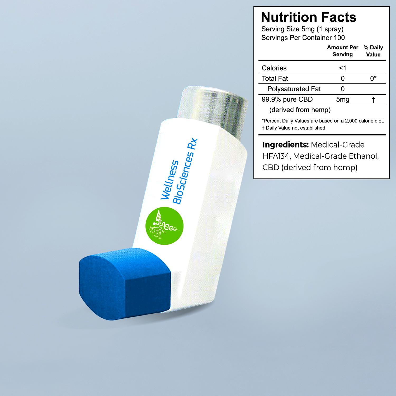 Image for WBRx Metered-Dose Inhaler 5mg